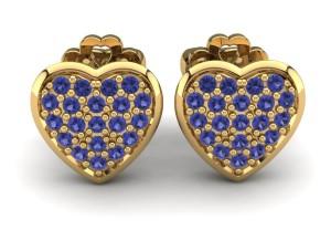Sapphire Earring Ava