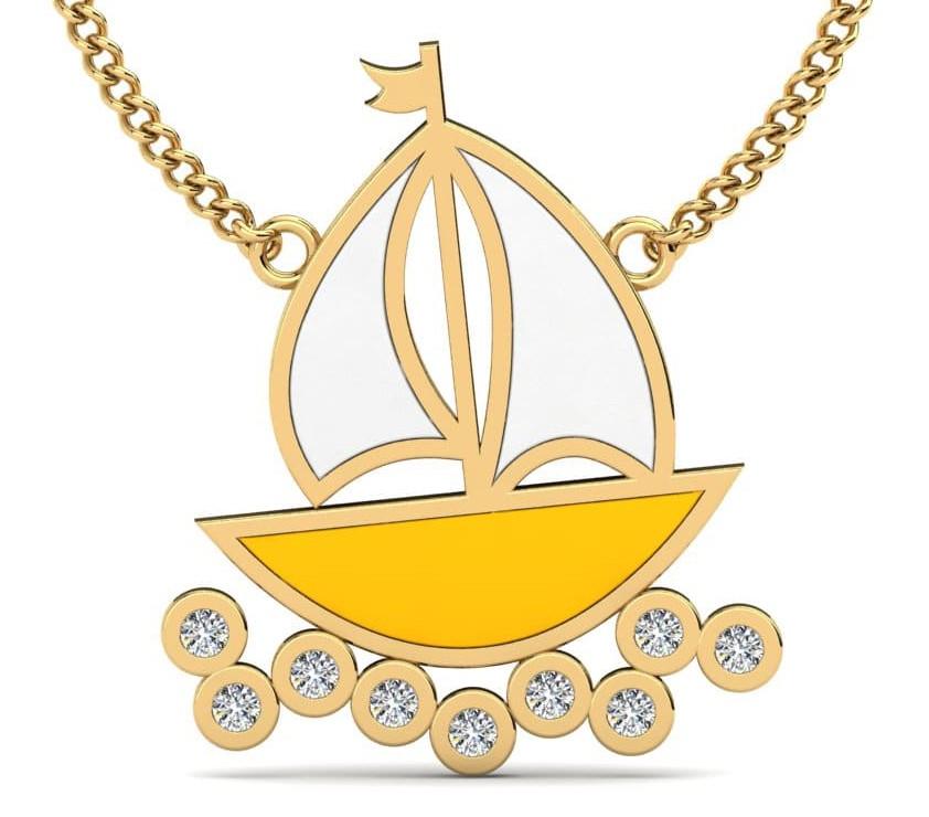 Kids Yellow Diamond Ring
