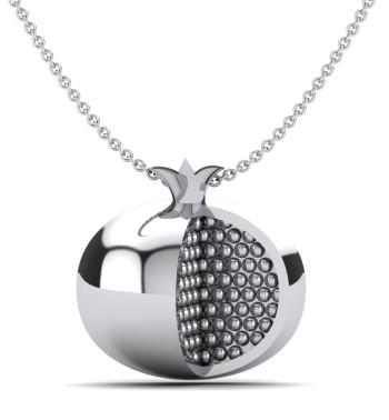 Diamond Pomergranate Pendant