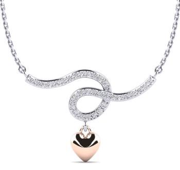 White Diamond Pendant