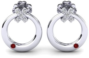 Diamond Platinium Earrings