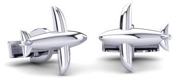 White Diamond Cufflinks