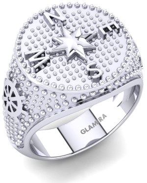 Platinium Diamond Ring