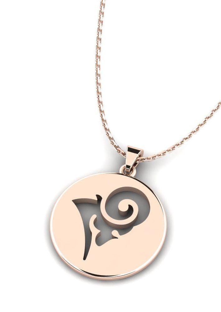 capricorn necklace jewelry