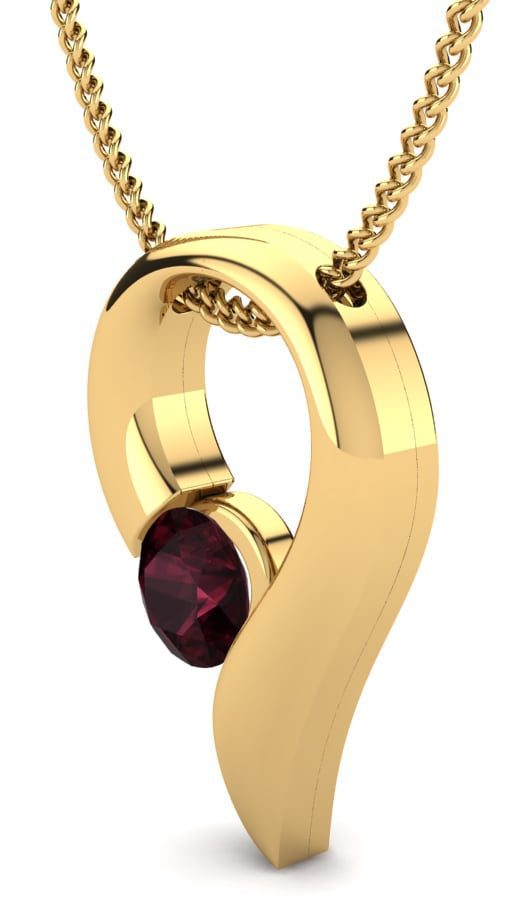 garnet-necklace-yellow-gold