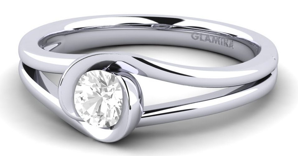 platinum engagement ring diamond