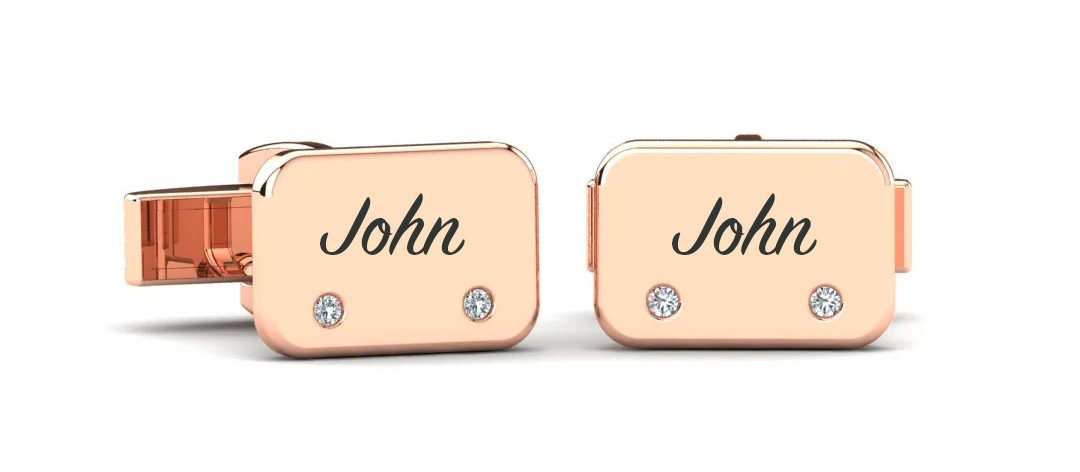 Valentines gifts for-him personalized cufflinks