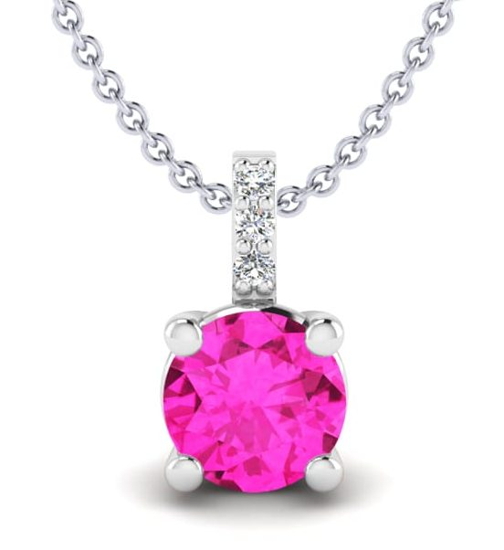necklace pink tourmaline gift ideas for valentines